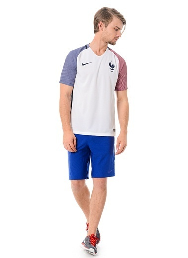 V Yaka Tişört | Fransa-Nike